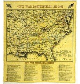 Historic Document - Civil War Battlefields Map