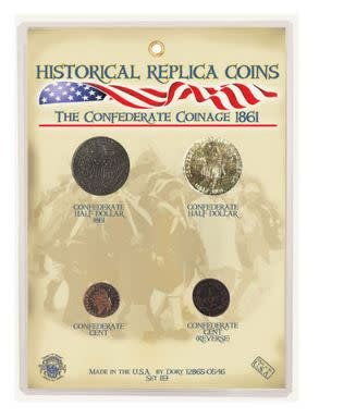 Replica Coin Set - Confederate Coinage 1861