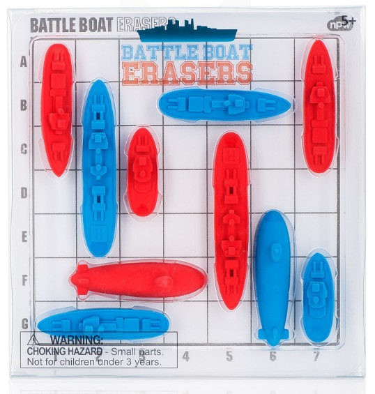 Battleship Erasers