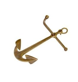 Madison Bay Company Brass Anchor Paperweight