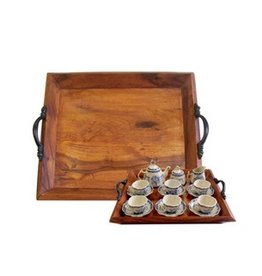 Wooden Tea Tray, Small