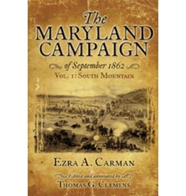 The Maryland Campaign of September 1862, Vol I