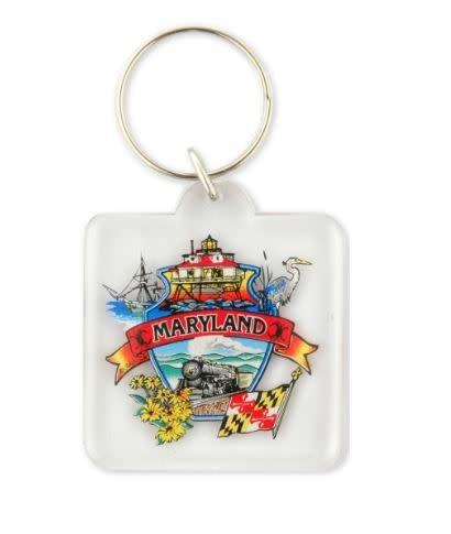 Keychain - Maryland Montage
