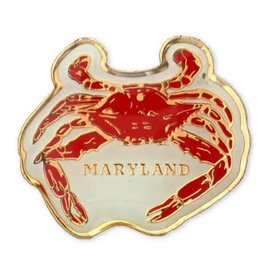 Lapel Pin - Maryland Crab