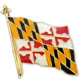 Lapel Pin - Maryland Flag