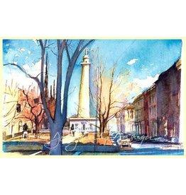 Large Single Card - Washington Monument