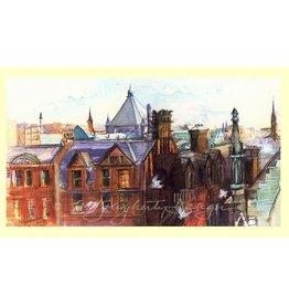 M.Dougherty Watercolor Print - Mt. Vernon Sunrise with Doves