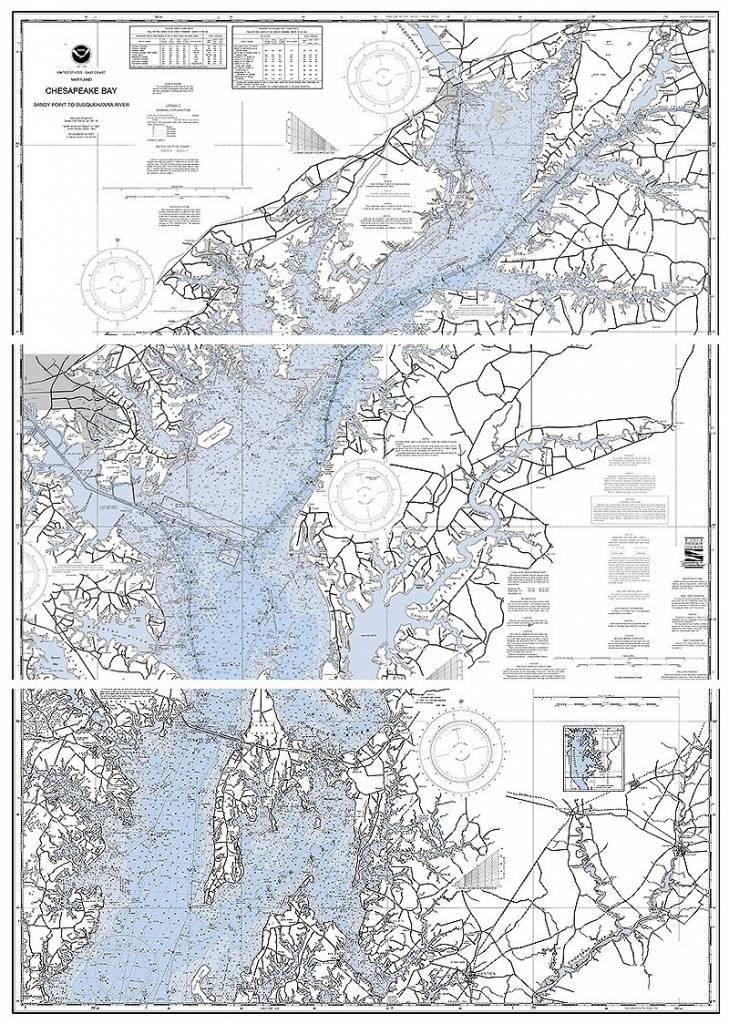 16x20 Chesapeake Bay Print, Matted