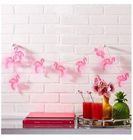 Pink Flamingo LED String Lights