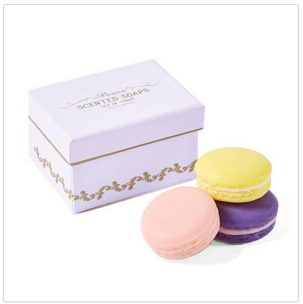 Soaps- Macaron in Gift Box, set of 3