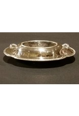 Small Silver Plated Covered Casserole Dish