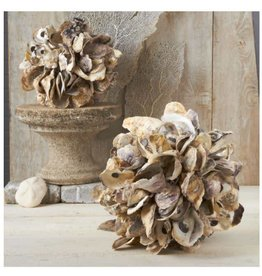 Oyster Shells Decorative Ball - Large
