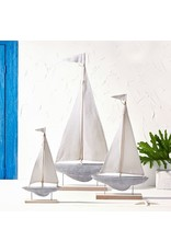 Sailboat Sculpture on Stand, Small