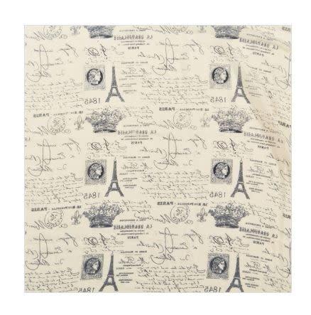 Paris Postcard Scarf - Taupe
