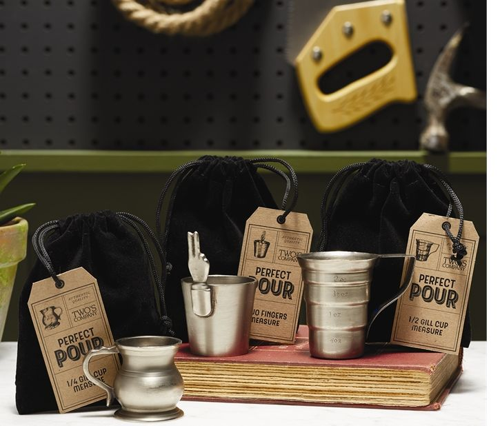 Brass Gill Measuring Cup