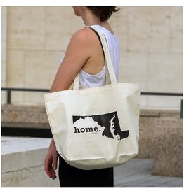Home State Apparel MD home. Canvas Tote Bag