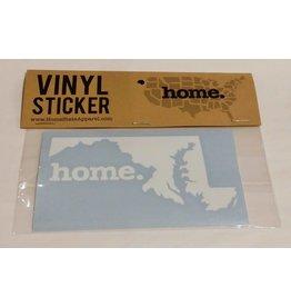 Home State Apparel Vinyl Decal Sticker-