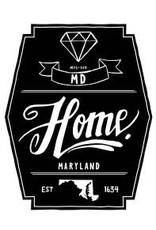Home State Apparel Diamond Pint Glass- Maryland
