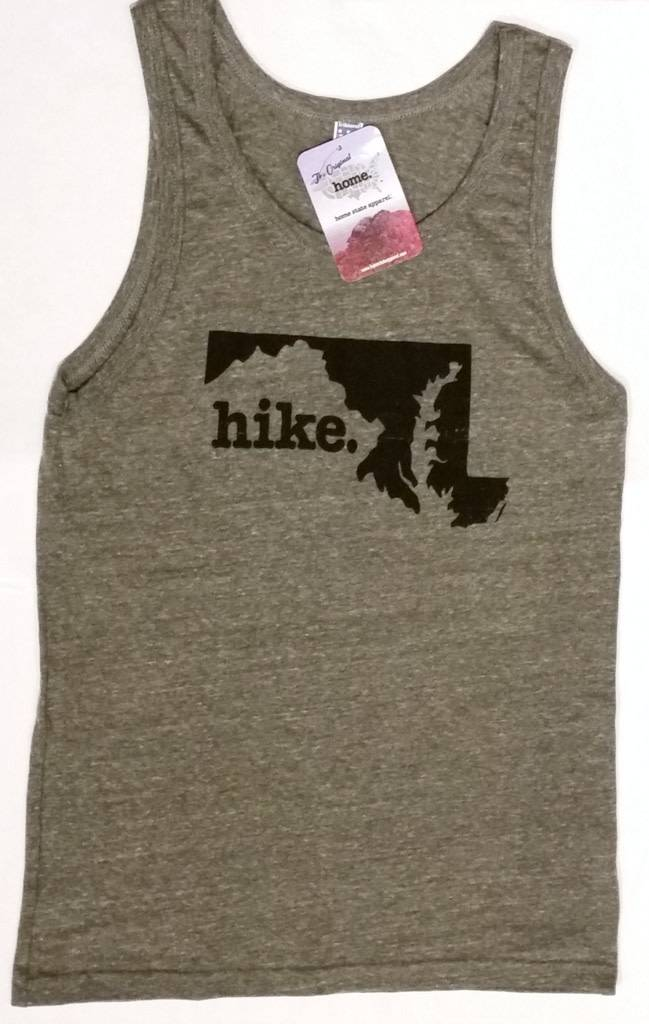 Home State Apparel hike. Tank Top