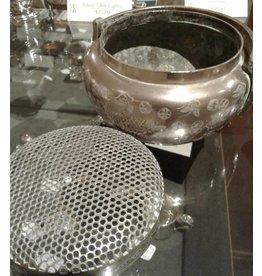 Japanese Silver Incense Burner
