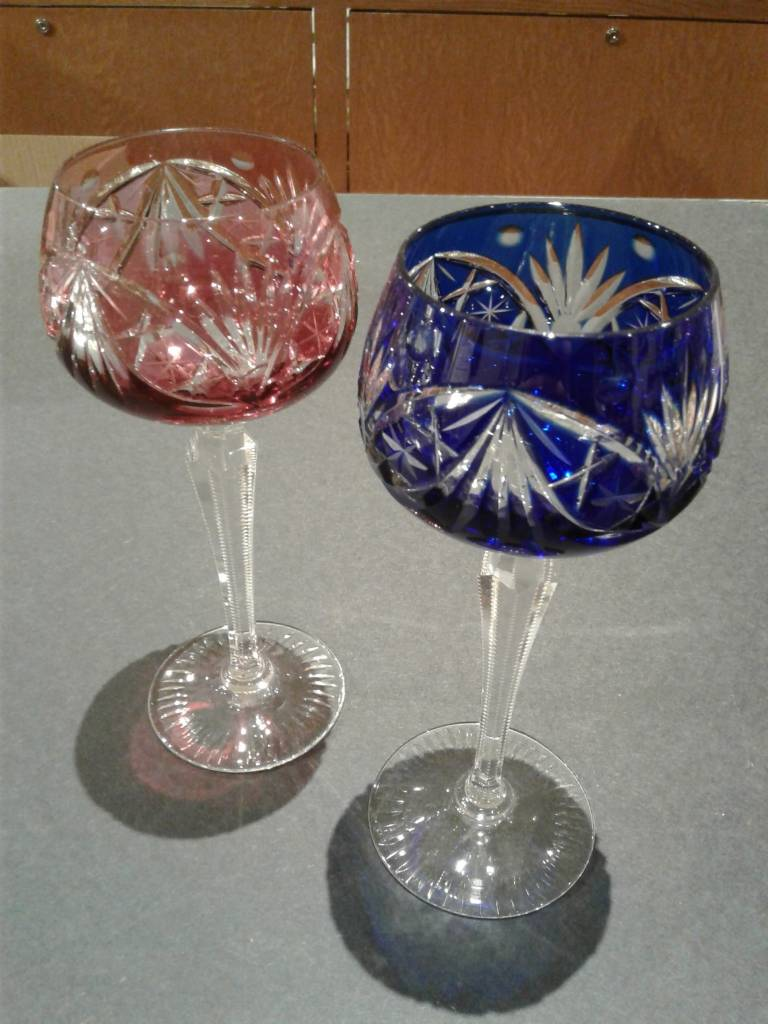 Individual Colored Wine Glass, Assorted