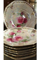Lusterware Fruit Bowl and Dishes