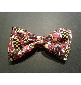 Maryland Flag Print Pre-Tied Bow Tie