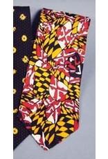 Maryland Flag Design Tie