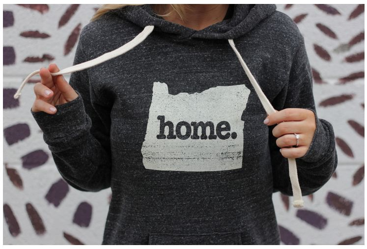 Home State Apparel home. Adult Hoodie