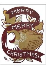 Single Card - Christmas Partridge