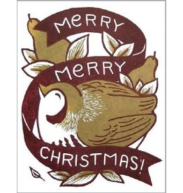 Single Card - Christmas Partridge