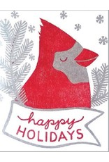 Single Card - Holiday Cardinal