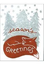 Card Set- Holiday Fox, 6 ct.