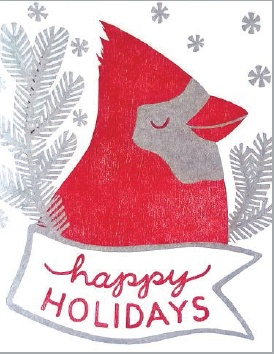 Card Set- Holiday Cardinal, 6 ct.