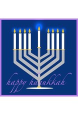 Single Card- Happy Hanukkah