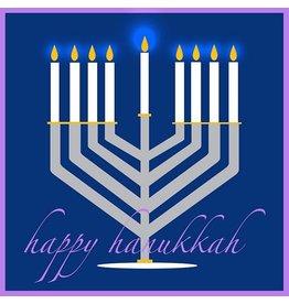 Maggie Stewart Design Card - Happy Hanukkah