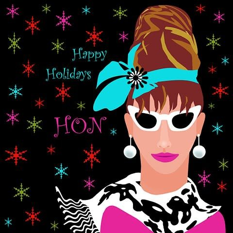 Single Card- Holiday Hon