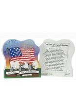 Wood Replica- Star Spangled Banner