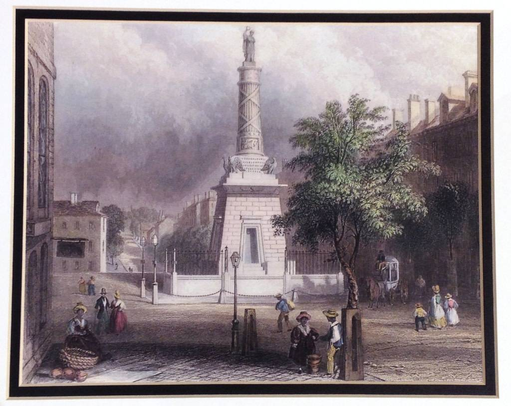 Print - Battle Monument, Baltimore