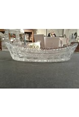 Cut Glass Celery Dish