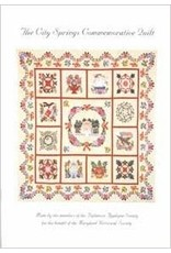 City Springs Commemorative Quilt Pattern Book