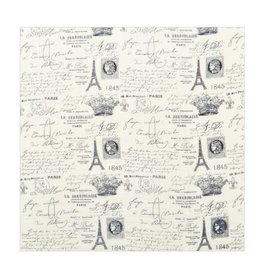 Paris Postcard Scarf - Ivory