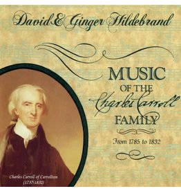CD- Music of Charles Carroll Family