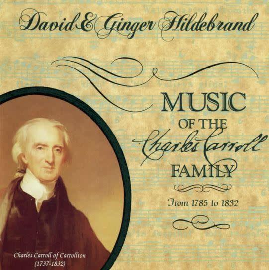 CD- Music of Charles Carroll Family
