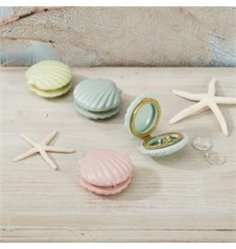 Seashell Limoges Trinket Box