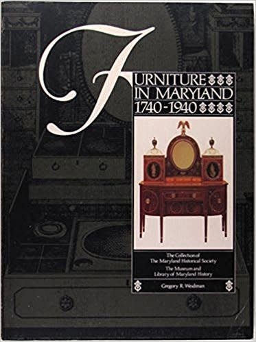 Furniture in Maryland, 1740-1940 (Used)