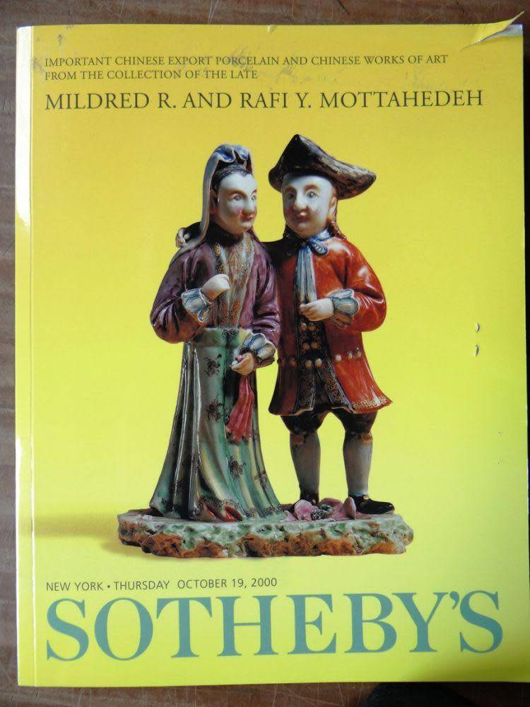 Sotheby's Mildred R. and Rafi Y. Mottahedeh (used)