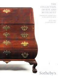 Sotheby's The Collection of Roy and Ruth Nutt (used)
