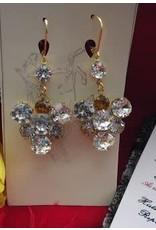 Lady Crystal Drop Earrings