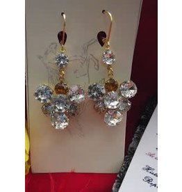 Lady Crystal Drop Earrings